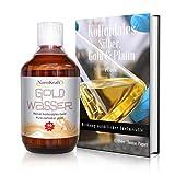 Kolloidales Gold 500ml / 10ppm | Gratis E-Book in 5 Sprachen zum Download | Rosa Goldwasser | HVAC-Herstellung in Laborumgebung | Braunglasflasche | Messbecher | Hohe Konzentration | Hochwirksam